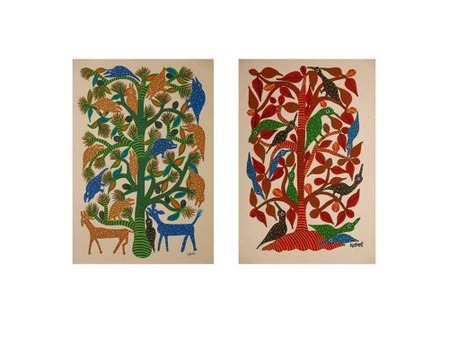 Bhil Trees Set 5